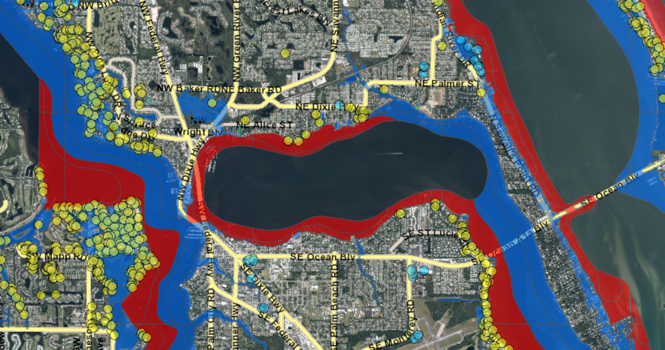 martin county flood zone